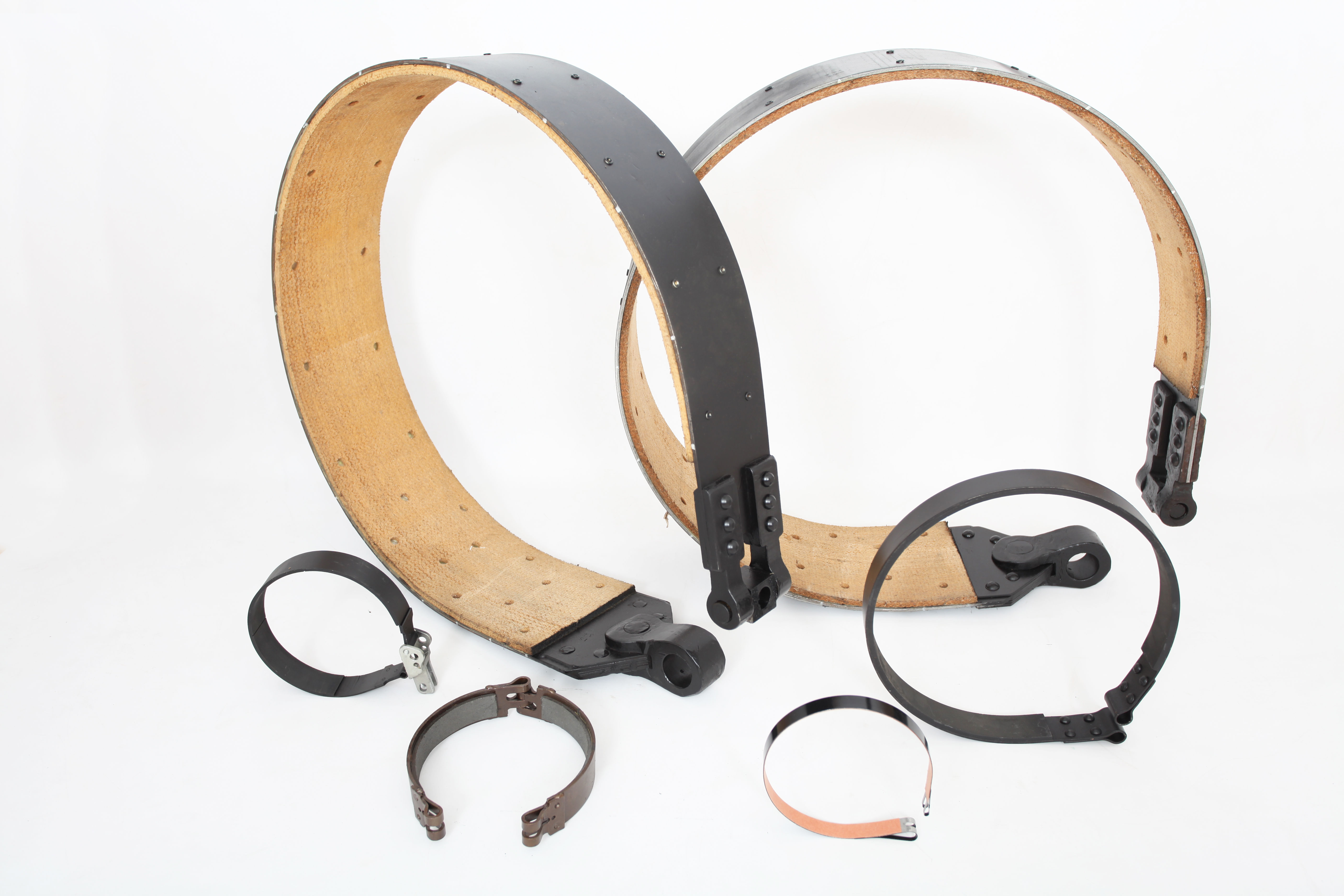 A wide range of brake bands which we reline and supply